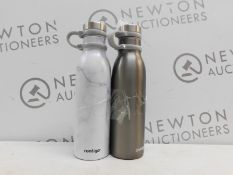 1 SET OF 2 CONTIGO COUTURE COLD INSULATED TRAVEL BOTTLES RRP £29.99