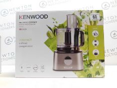 1 BOXED KENWOOD FDM302SS 800W 2.1L MULTI-PRO COMPACT FOOD PROCESSOR WITH ACCESSORIES RRP £129.99