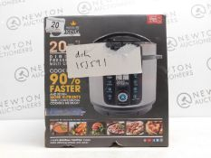 1 BOXED PRESSURE KING PRO 6L 20-IN-1 MULTI-COOKER RRP £129.99