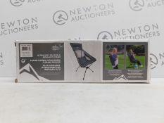 1 BOXED CASCADE ULTRA LIGHT HIGH-BACK CHAIR RRP £39.99