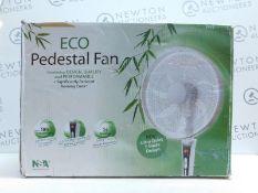 1 BOXED NSA SFDC-40101RC ECO PEDESTAL FAN RRP £119.99