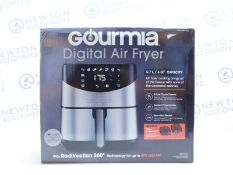 1 BOXED GOURMIA 5.7L DIGITAL AIR FRYER WITH ACCESSORIES RRP £89.99