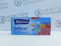 1 BRAND NEW BOX OF BACOFOIL ALL PURPOSE ZIPPER BAGS RRP £24.99