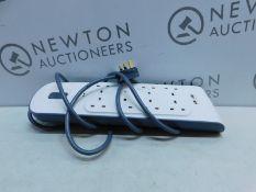 1 BELKIN SURGE PLUS 8-SOCKET EXTENSION USB SURGE PROTECTOR RRP £49.99