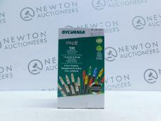 1 BOXED SYLVANIA 100 LED MINI LIGHTS 10M/ 33FT RRP £19.99