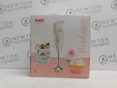 1 BOXED BAMIX OF SWITZERLAND HAND BLENDER WITH ACCESSORIES RRP £199.99 (WORKING, IN VERY GOOD COND
