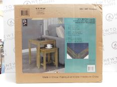 1 BOXED BAINBRIDGE HOME NEST OF 2 TABLES RRP £149.99