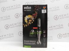 1 BOXED BRAUN MULTI-QUICK 9 MQ9087X HAND BLENDER RRP £149.99