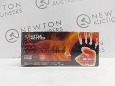 1 BRAND NEW SEALED BOXED LITTLE HOTTIES HAND WARMERS 40 PACK RRP £39.99