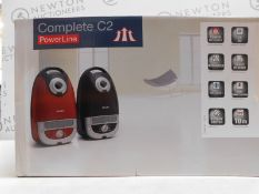 1 BOXED MIELE POWERLINE COMPLETE C2 VACUUM CLEANER RRP £219.99