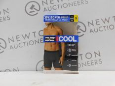 1 BOXED 2PC 32HEAT PERFORMANCE MESH BOXER BRIEFS SIZE S RRP £24.99
