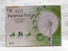 1 BOXED NSA SFDC-40101RC ECO PEDESTAL FAN RRP £119.99