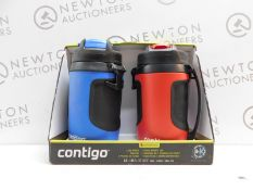 1 BOXED 2PK CONTIGO AVEX POWERADE JUMBO DRINKS BOTTLES RRP £39.99