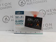 1 BOXED LA CROSSE TECHNOLOGY WI-FI PROJECTION ALARM CLOCK RRP £49.99