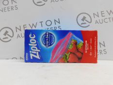 1 BOX OF ZIPLOC EASY OPEN BAGS RRP £12.99