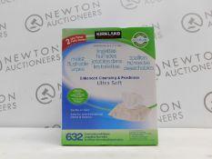 1 BOXED 10PK (APPROX) KIRKLAND SIGNATURE MOIST FLUSHABLE WIPES ENHANCED CLEANSING & FRESHNESS RRP