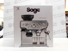 1 BOXED SAGE BARISTA EXPRESS BES870UK BEAN TO CUP COFFEE MACHINE RRP £599.99