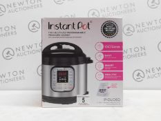 1 BOXED INSTANT POT IP-DUO60 7 IN 1 MULT-FUNCTIONAL COOKER RRP £159.99