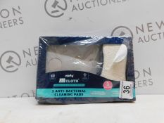 1 BOXED MINKY M CLOTH ANTI-BACTERIAL CLEANING PAD 4 PACK RRP £15