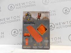 1 BOXED STANDING BEAR INFLATABLE SLEEPING PAD RRP £39