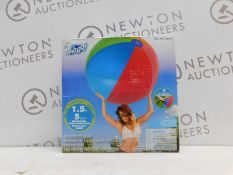"""1 BRAND NEW BOXED SET OF 2 BESTWAY 60"""" H2O GO INFLATABLE BEACH BALLS RRP £19.99"""