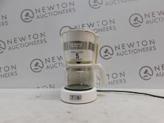 1 DE'LONGHI ICM14011.W NEW ACTIVE LINE DRIP FILTER COFFEE MAKER 0.65L 650W WHITE RRP £39 (USED