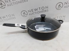 1 GREENPAN JUMBO 4.7L SAUTE PAN WITH LID RRP £49.99 (EXCELLENT CONDITION)
