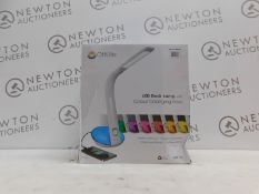 1 BOXED OTTLITE LED DESK LAMP WITH COLOUR CHANGING BASE RRP £49.99