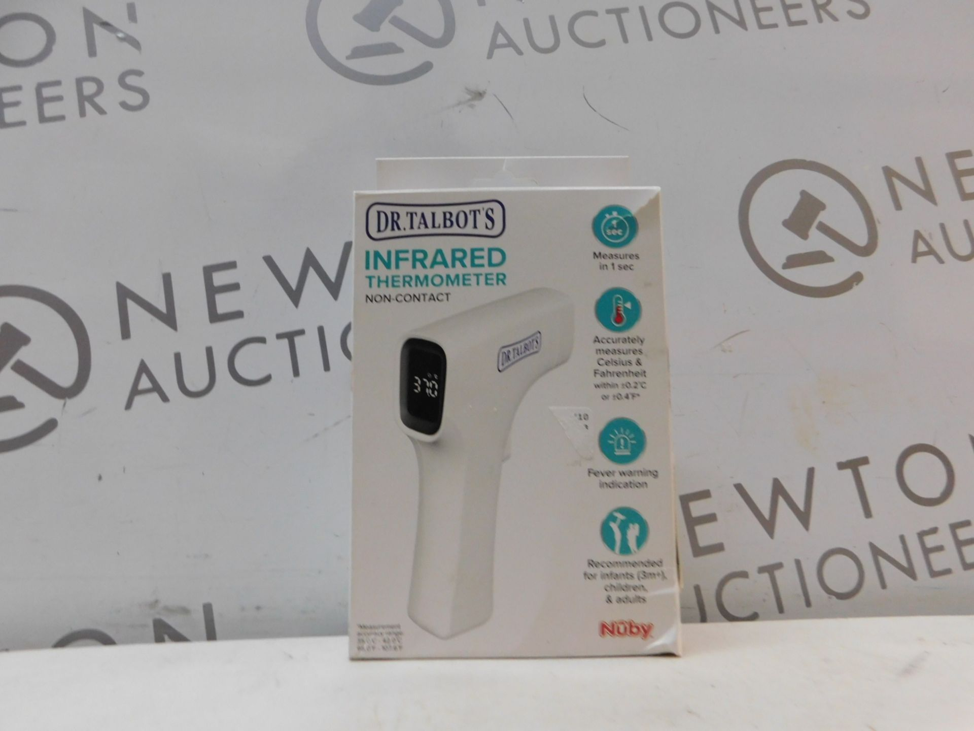 Lot 286 - 1 BOXED DR TALBOTS INFRARED THERMOMETER NON-CONTACT RRP £79.99