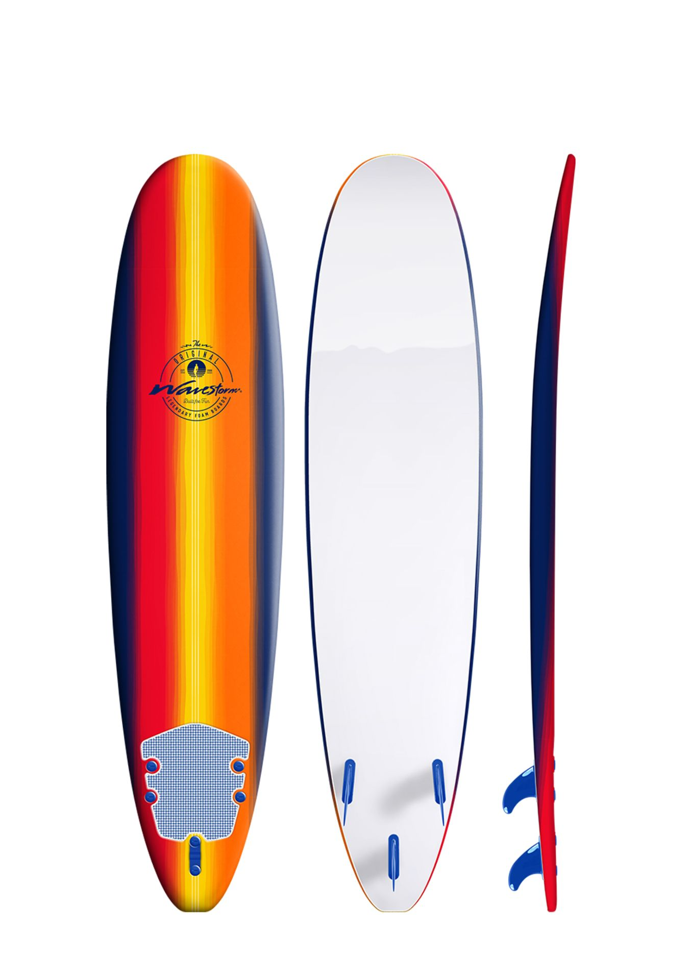 Lot 855 - 1 WAVESTORM 8FT/ 244CM CLASSIC SURFBOARD RRP £199 (HAS MARKS AND FEW CHIPS, GENERIC IMAGE GUIDE)
