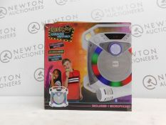 1 BOXED ROCKJAM GO LIGHTSHOW BLUETOOTH RECHARGEABLE KAROAKE SPEAKER RRP £64.99