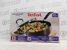 1 BOXED TEFAL HARD ANODIZED ALUMINIUM 30CM DEEP SAUTE PAN/SKILLET 4.73L RRP £39