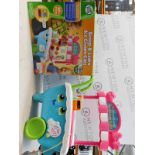 1 LEAP FROG SCOOP AND LEARN ICE CREAM CART RRP £44.99 (WITH BOX)
