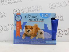 1 BOXED COCO JOJO PET COOLING MAT AND TOWEL RRP £39.99