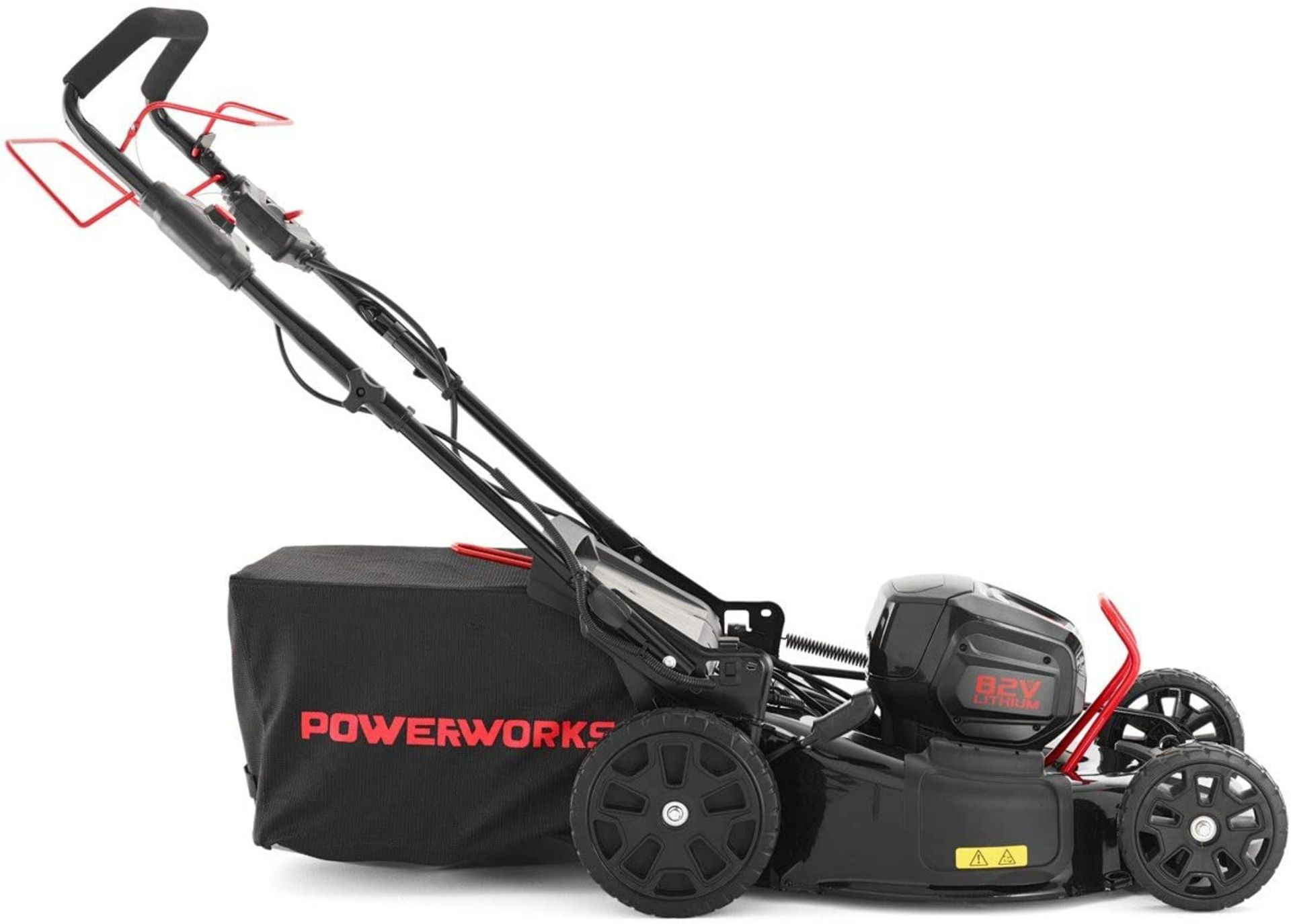 Lot 861 - 1 BOXED POWERWORKS 82V CORDLESS 46CM SELF PROPELLED LAWN MOWER RRP £599 (GENERIC IMAGE GUIDE)