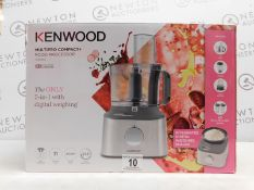 1 BOXED KENWOOD FDM312SS MULTIPRO COMPACT+ FOOD PROCESSOR WITH ACCESSORIES £199