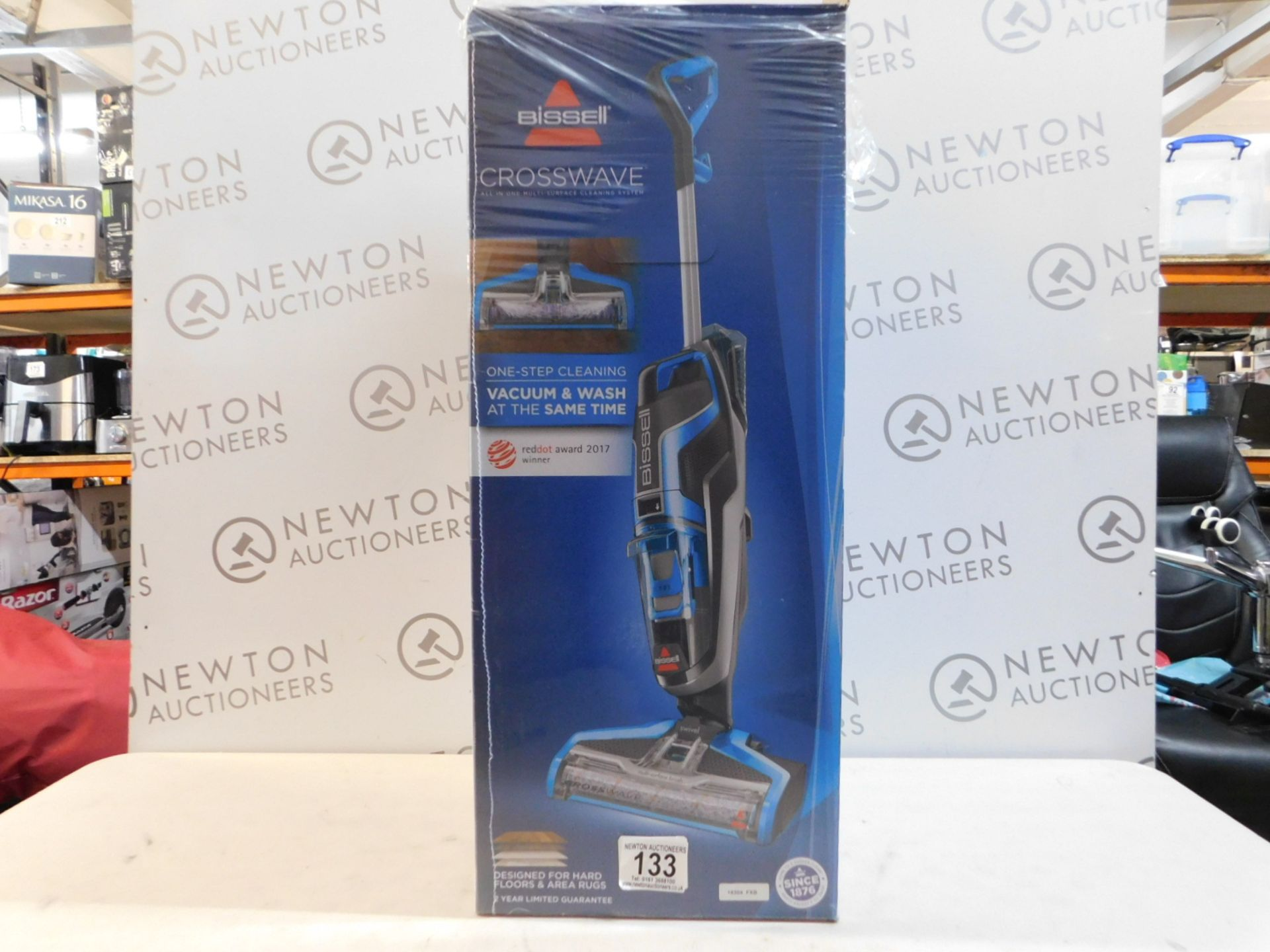 Lot 133 - 1 BOXED BISSELL CROSSWAVE ALL IN ONE MULTI-SURFACE CLEANING SYSTEM RRP £249.99
