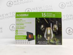 1 BOXED SOLAR POWERED INDOOR/OUTDOOR LED DECORATIVE LIGHTS RRP £42.99