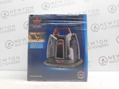 1 BOXED BISSELL SPOTCLEAN PROHEAT PORTABLE SPOT AND STAIN CARPET CLEANER RRP £199