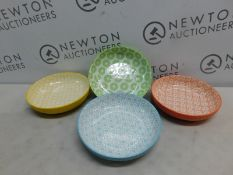 1 SET OF 4 SIGNATURE COLOURFUL BOWLS RRP £39.99