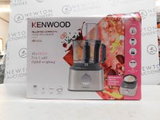 1 BOXED KENWOOD FDM312SS MULTIPRO COMPACT+ FOOD PROCESSOR £179