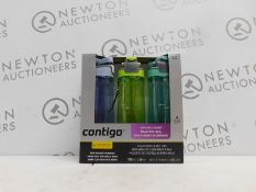 1 BOXED PACK OF 3 CONTIGO DRINKS BOTTLES RRP £39.99