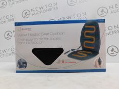 1 BOXED HEALTHMATE VELOUR HEATED SEAT CUSHION RRP £29.99
