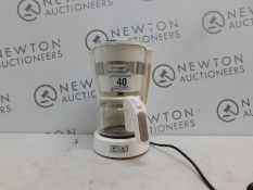 1 DE'LONGHI ICM14011.W NEW ACTIVE LINE DRIP FILTER COFFEE MAKER 0.65L 650W WHITE RRP £39