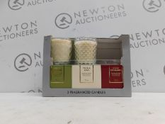 1 BOXED SET OF 2 TORC VARIETY FRAGRANCED CANDLES WITH GIFT BOXES RRP £39.99