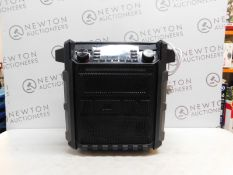 1 ION BLOCK ROCKER SPORT BLUETOOTH PORTABLE SOUND SYSTEM RRP £299.99
