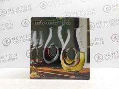 1 BOXED GLASS CARAFE 1L RRP £19.99