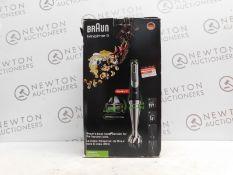 1 BOXED BRAUN MULTI-QUICK 9 MQ9087X HAND BLENDER RRP £149.99