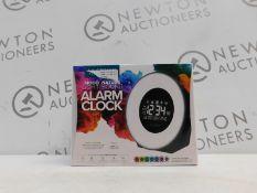 1 BOXED LA CROSSE TECHNOLOGY COLOUR MOOD LIGHT ALARM CLOCK RRP £44.99