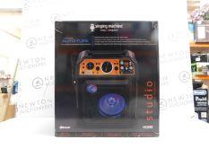 1 BOXED SINGING MACHINE SDL2093 HDMI KARAOKE MACHINE WITH AUTO-TUNE RRP £249